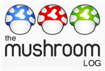 the mushroom log