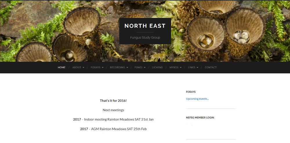 North East Fungus Study Group